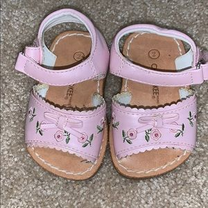 Cherokee infant sandals size 2